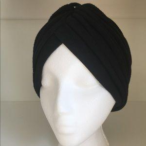 Vintage Pleated Turban | Retro Tubans for Women